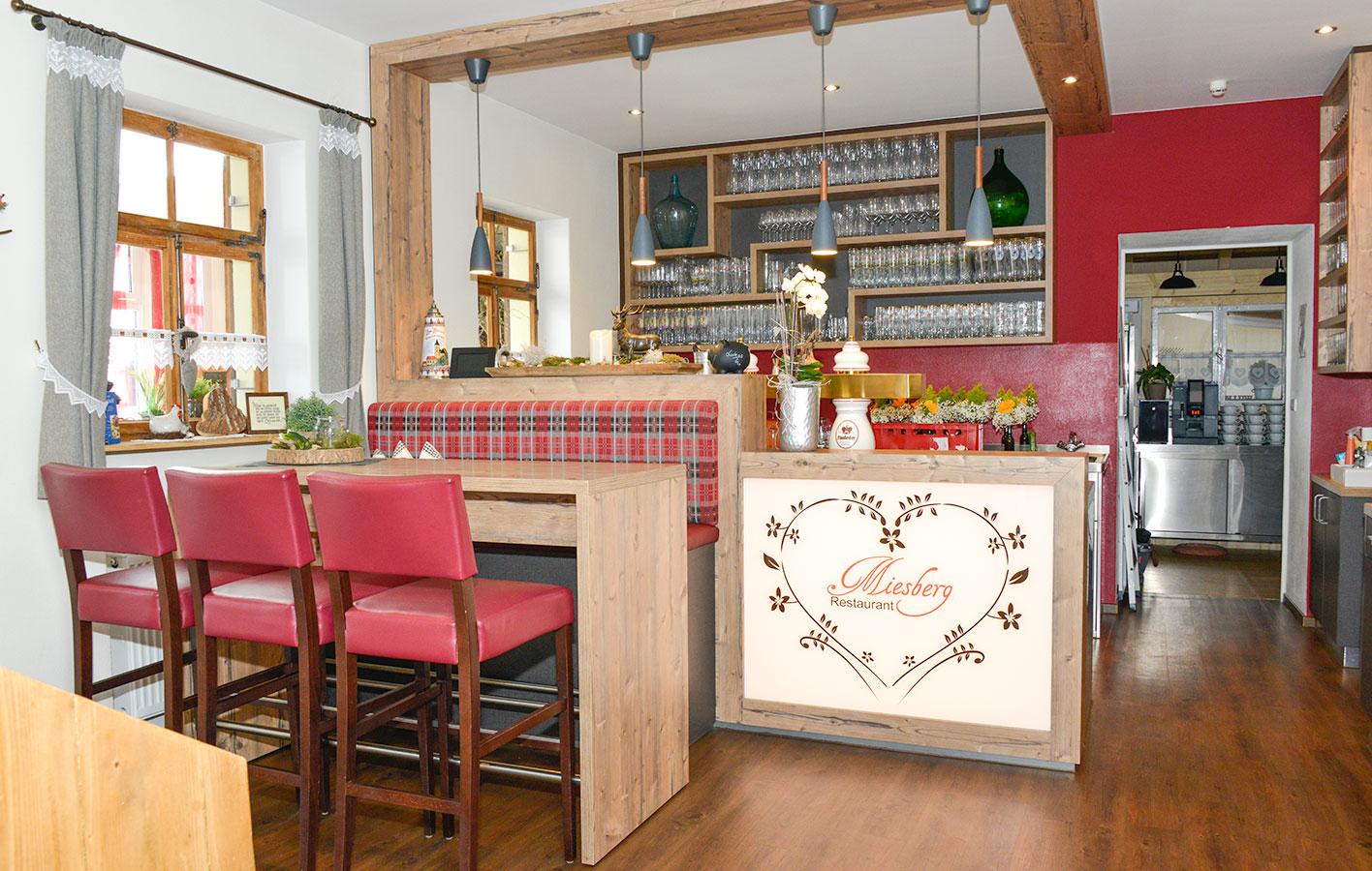 Theke Restaurant Miesberg