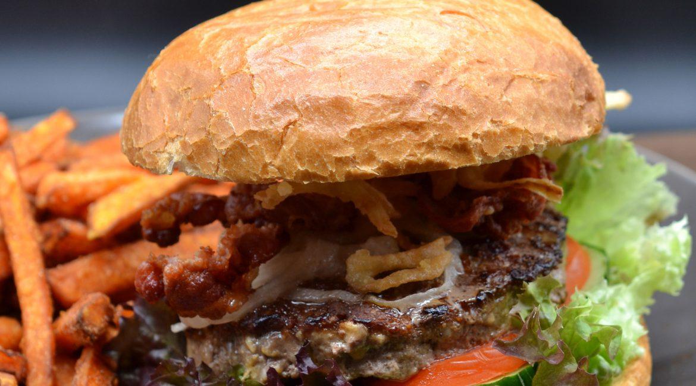 Niesberg-Burger Nahaufnahme