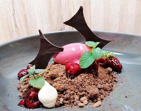 Himbeere / Schokolade