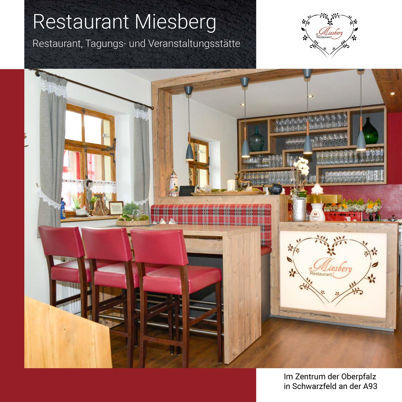Broschüre Restaurant Miesberg